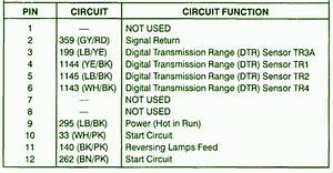 1999 Chrysler Town  U0026 Country 3 8 Digital Transmission Fuse