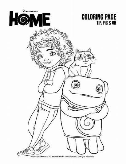 Coloring Pages Empowering Quotes Oh Tip Pig
