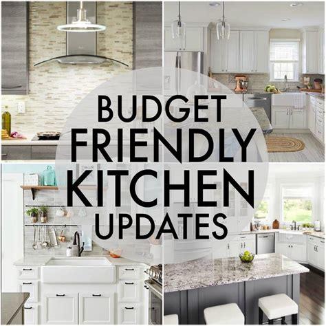 Budget Friendly Kitchen Updates » Persnickety Plates