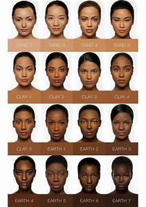 Concealer Chart Second To None Stick Foundation Iman Cosmetics