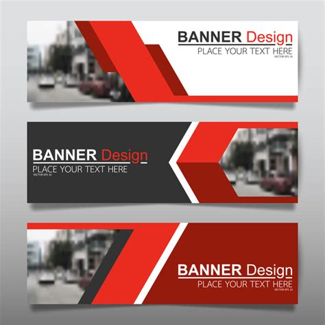 vector set  modern banners template design  vector