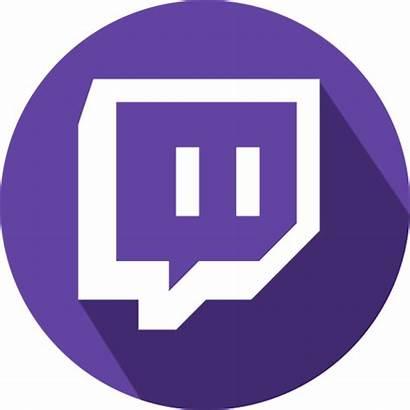 Twitch Icon Logos Transparent Clip Clipart Social