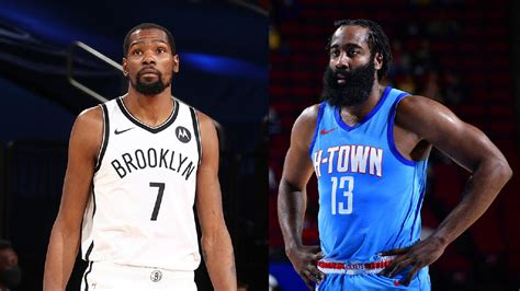 Finally, James Harden joins KD at Nets on a four-team ...