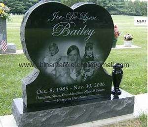 headstone prices china black granite monument gravestone With cemetery lettering prices