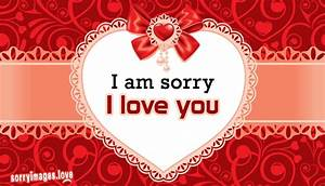 I Am Sorry I Love You @ SorryImages.Love