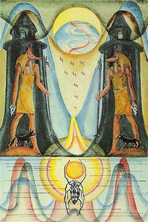 1000 images about thoth tarot major arcana on pinterest