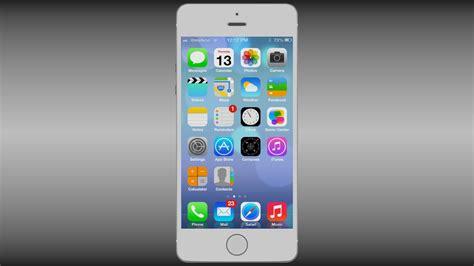 white iphone 5s iphone 5s white 3d model obj blend cgtrader