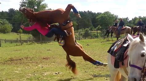 horse horses flipping rider bad rearing riders flips bucking its flies