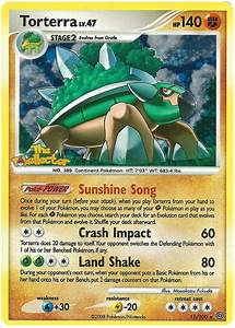 Torterra - Stormfront #11 Pokemon Card