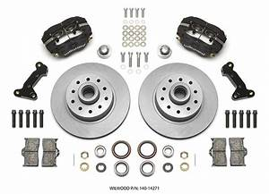 Wilwood Disc Brake Kit Front Pinto Mustang Ii 11 U0026quot  1 Piece