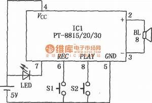Solid Recorder Circuit - Audio Circuit