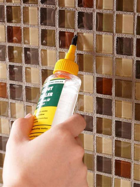 best grout sealer for kitchen backsplash how to tile your backsplash mosaics the road and cabinets 9130