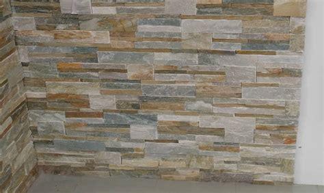 plaque murale cuisine poser des pierres de parement