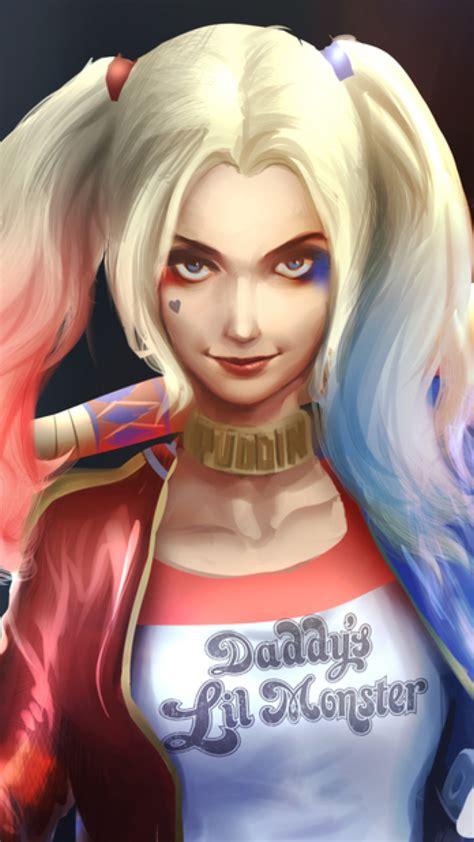 Harley Quinn Art, Full Hd 2k Wallpaper