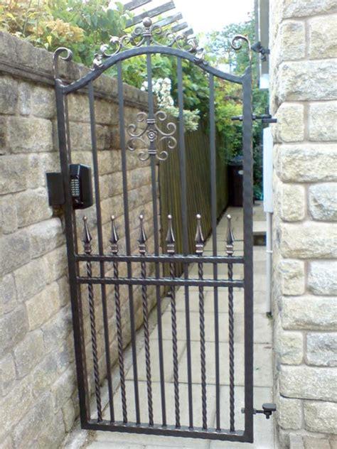 single pedestrian gates gkw wrought iron