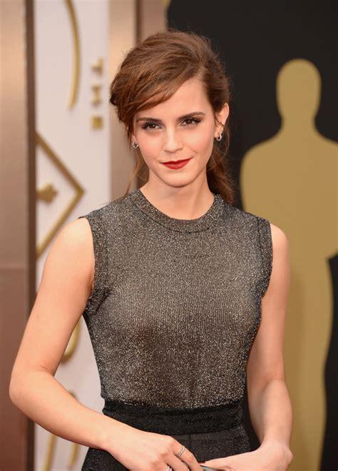 Emma Watson Photos Arrivals The Annual Academy