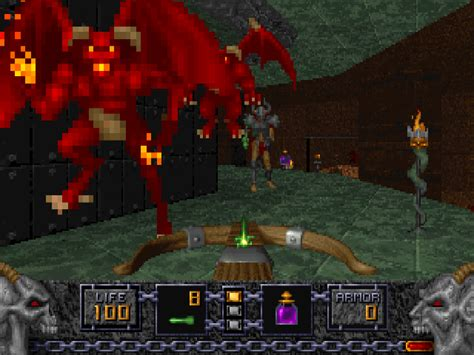 heretic dos games archive