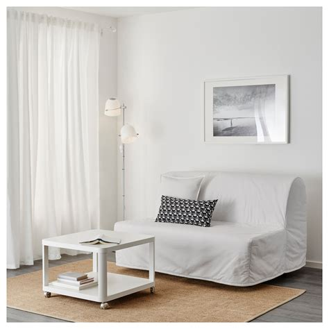 lycksele chair bed cover lycksele two seat sofa bed cover ransta white ikea