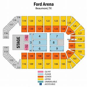 Citizens Bank Park Seating Chart Concert Ford Arena Beaumont Texas Seating Chart