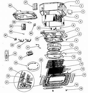 Fan Coil Diagram  U0026 Parts List For Model 40kmq03036301