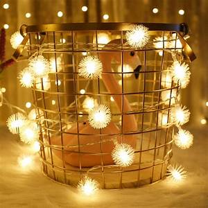 1, 3, 5, 6m, Edelweiss, String, Lights, Indoor, Fairy, Lights, Christmas, Garland, Led, Holiday, Lights, String