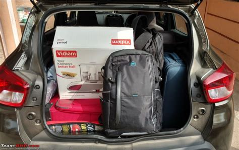 renault kwid boot space renault kwid 1 0l official review page 5 team bhp