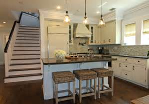farmhouse island kitchen watersound cottage interior design by andrea maulden nest interior design