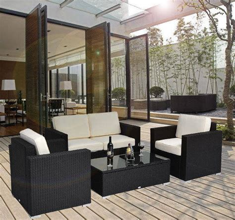 Who Sells Outdoor Furniture by Sell 4 Pc Outdoor Rattan Sofa Wicker Sectional Patio