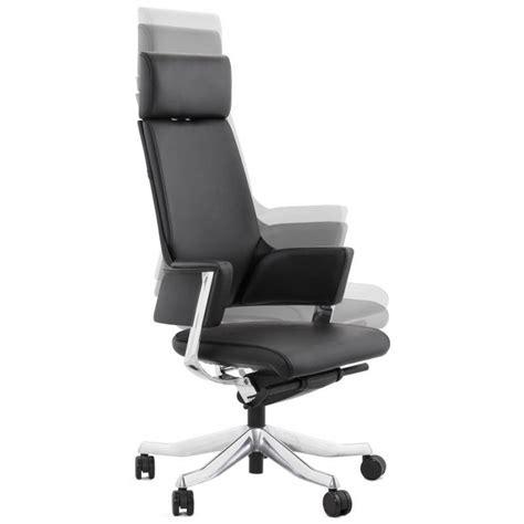 fauteuil bureau cuir design fauteuil de bureau design ergonomique cuba en cuir noir