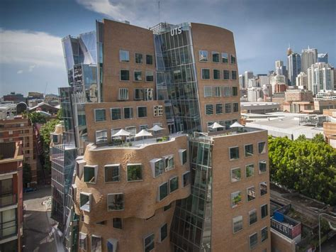 Frank Gehry Crumpled Back Building In Sydney Business