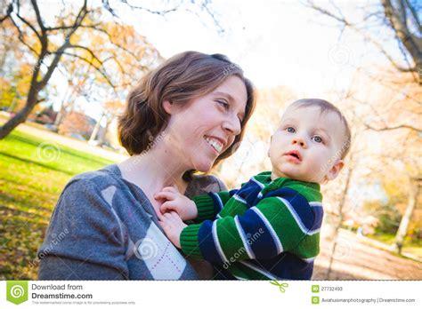 Mammas Boy stock image. Image of autumn, child, drool - 27732493