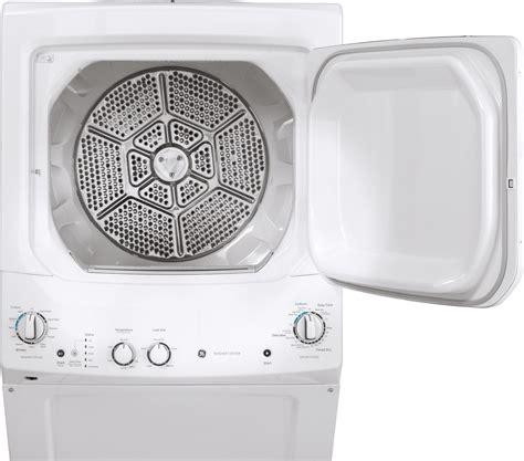 ge gudgssmww  gas laundry center white