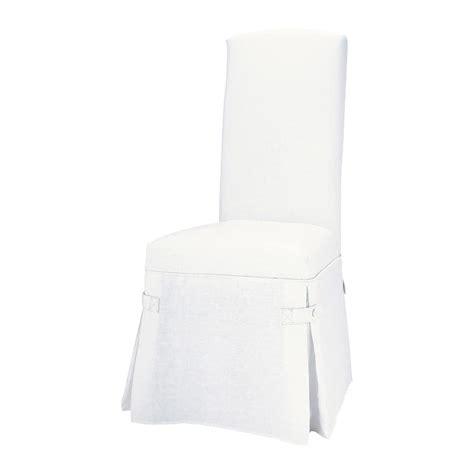 housse de chaise maison du monde housse de chaise blanc maisons du monde