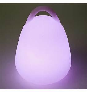 Lampe De Chevet Sans Fil : lampe led egg portative 24 cm lanterne de jardin ~ Teatrodelosmanantiales.com Idées de Décoration