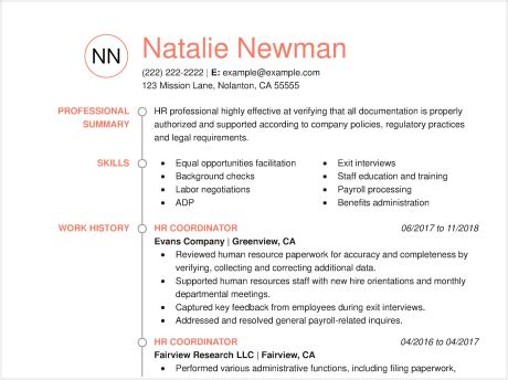 How To Write A Resume Exles by How To Put New Employees On Resume The Best