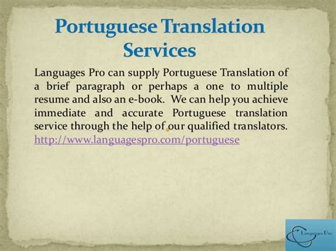 Translate Resume From To Portuguese by Russian Arabic Portuguese Italian And Language Translation