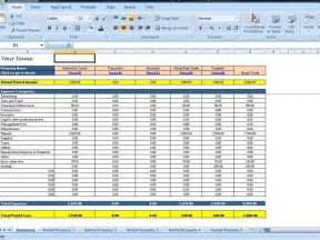 Rental Expense Spreadsheet landlords spreadsheet template rent and expenses worksheet
