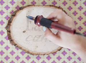 diy wood burning party signage the sweetest occasion With how to burn small letters into wood