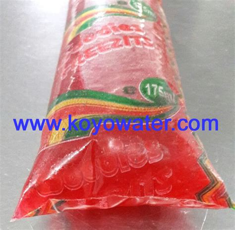 ice pop sachet filling  sealing machine