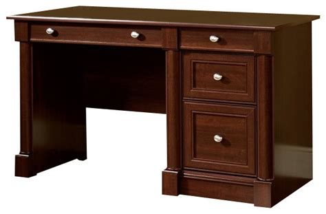 Sauder Palladia Computer Desk Finishes by Sauder Palladia Computer Desk In Select Cherry