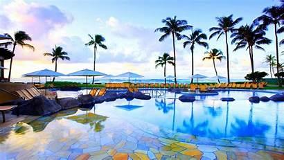 Desktop Tropical Backgrounds Beach Hawaii Summer Background