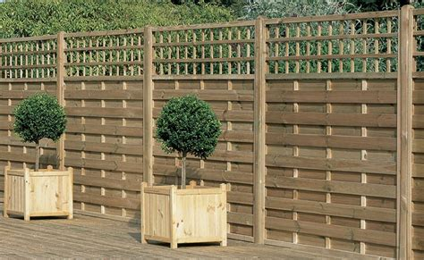 6ft Fence Panels With Trellis by Europa Montreal Panel A Decorative Heavy Duty Fence