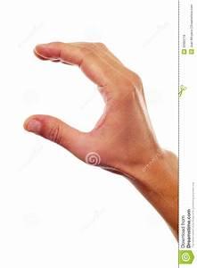 Man Hand Showing Or Holding Something Stock Image - Image ...