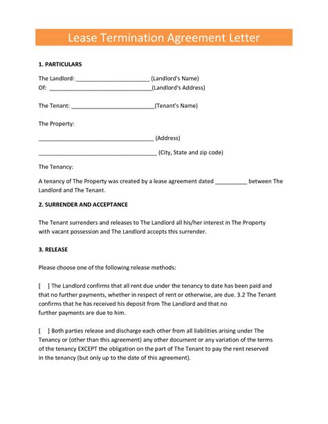 lease agreement letters lease termination agreement letter by elfir61807 cover