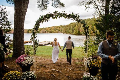 Bark Lake Summer Camp Wedding Carley Teresa Photography