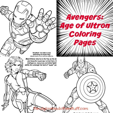 marvel s avengers age of ultron coloring pages avengersevent