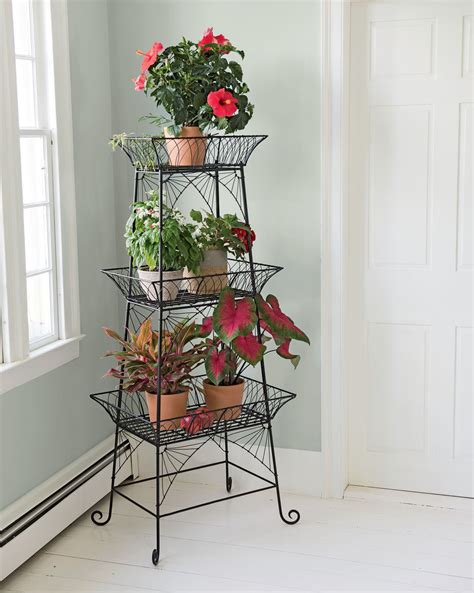 Etagere Images by Wire Plant Stand Bathroom Etagere Black Metal Plant Stand