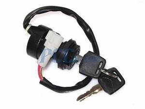 2 Wire Ignition Key Switch Yamaha Atv Grizzly 350 Yfm350