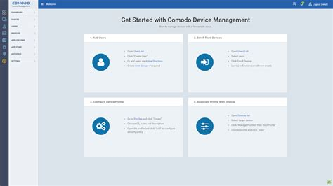 mobile device software comodo device manager free mobile device management mdm