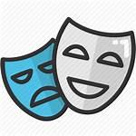 Mask Drama Face Theater Icon Cinema Icons